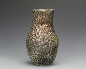 Raku Textured Vase