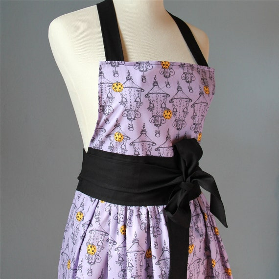 SALE 50% off - Full Apron for Women with Tina Givens Fabric
