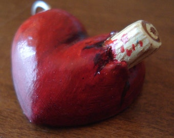 Staked Heart pendant