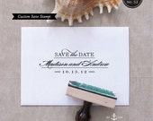 Classic Save the Date Stamp - Custom Stamp Design
