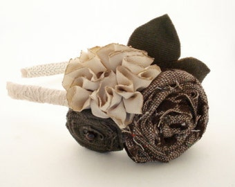 Secret Garden Flower Headband