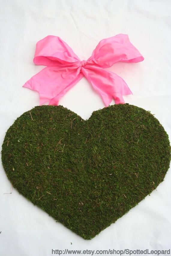 Valentine Heart Door Wreath 18 inch