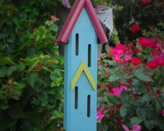 Butterfly house whimsical handcrafted cottage chic garden decor