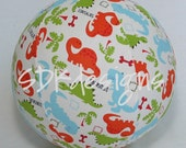Balloon Ball - Dinosaur Fabric - great toy for the classmate birthday party