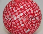 Fabric Balloon Ball TOY - Red and Pink Hearts & Polka Dots  - Valentines Day KIDS item
