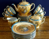 Exceptional Noritake Lusterware Tea Service for 8