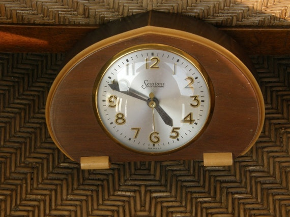 Art Deco Clock by Sessions