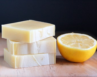 Litsea & Avocado - organic complexion soap, citrus essential oil blend