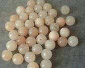 Full Strand of 10mm Pink Agate Gemstones (329)