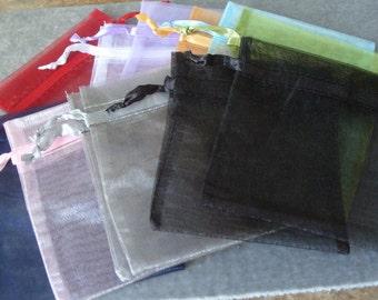 1 Dozen Organza 4 by 4 3/4 Gift Bags (707)