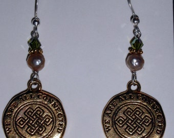 Popular Items For Connected Earrings On Etsy