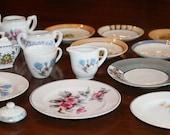 Vintage Doll Tea Set -  29 assorted pieces