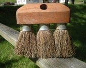 Large Great Big 3 Prong Brush for Projects  Use  or  Display