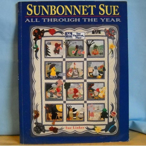 Sunbonnet Sue Pattern Book By Threadsofmagique On Etsy