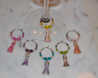 Dress Dresses Evening Gown Prom Fashion Wine Charms