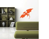 Dinosaur Decal - Pterodactyl Wall Stickers - Kids Bedroom Wall Graphic - Boys Bedroom Wall Decor - Dinosaur Decal Sticker