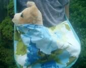 Dog Carrier Sling Bag  - Garden Party