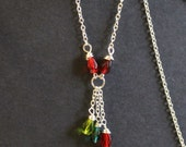 Custom Family Birthstone Necklace