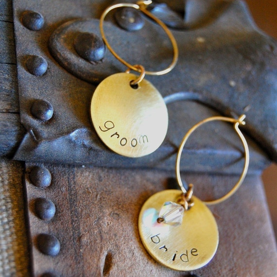 I DO - set of two winidentifiers for the bride and groom