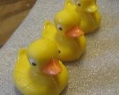 3D Chocolate ducks look just like small rubber ducks
