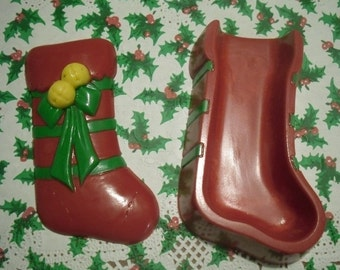 Chocolate Christmas Stocking Open Box