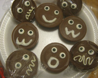 Funny Face Chocolate Covered Oreos