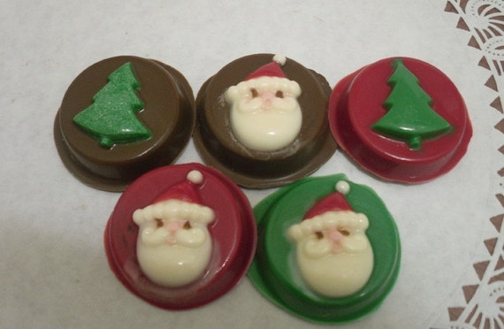 Christmas Chocolate Covered Oreos
