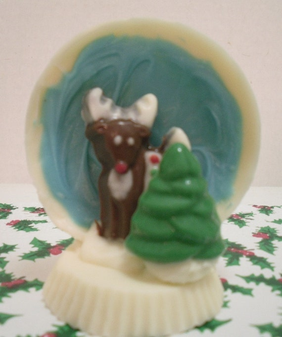 Solid Chocolate Snowglobe