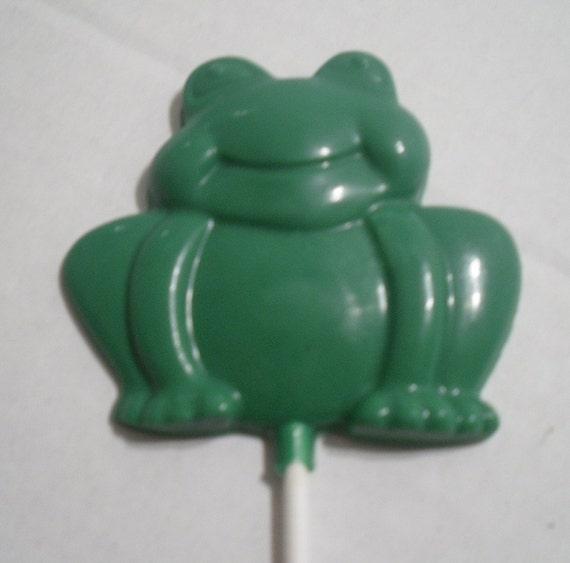 Large Frog Lollipops sucker party favors