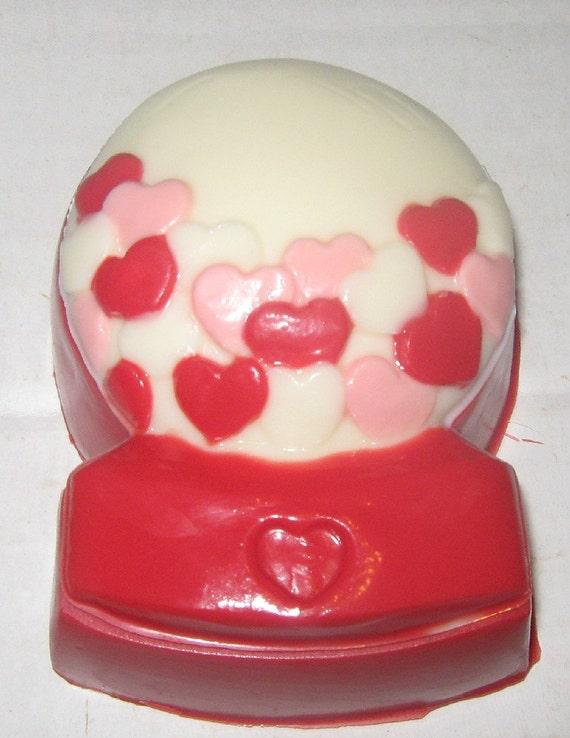 Heart Gumball Machine Chocolate Box