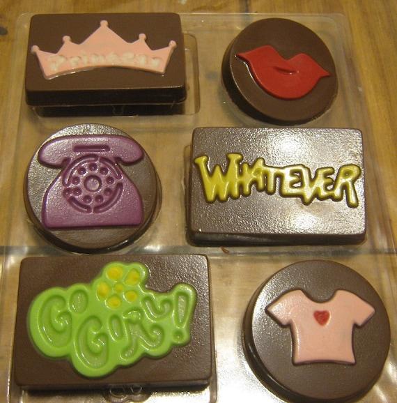 Sassy girl 6 piece chocolates