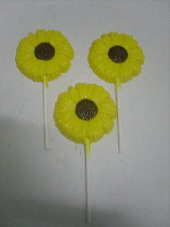 Spring Flowers Lollipops