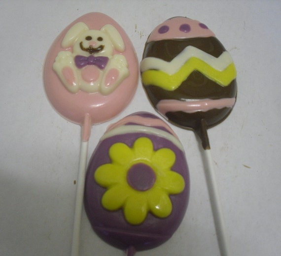 Large Easter Egg Lollipops