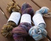 Set of 3 Mini Skeins sock yarn