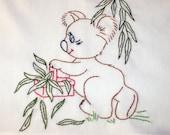 Koala Bear Goes to Market