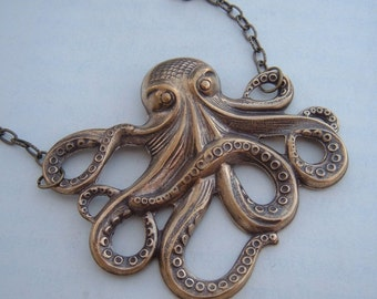The Original Mr. Octopus Antique Brass