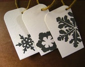 Snowflake Gift Tags - Pack of 10