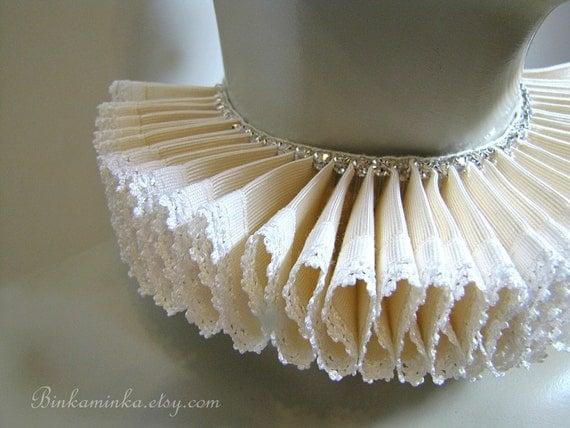 Decadent Ruffle Collar Elizabethan Ruff