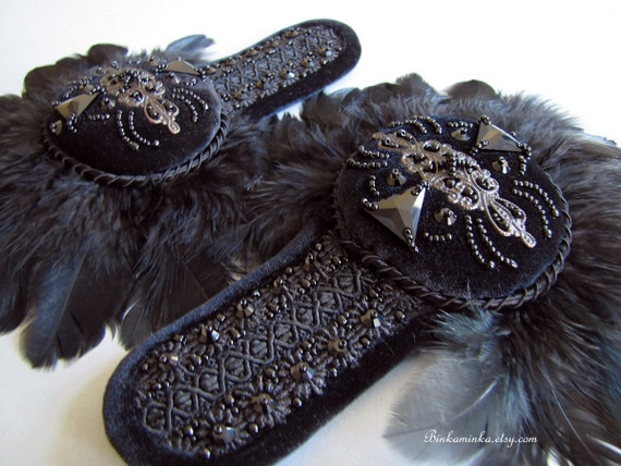 Feather Epaulettes Reserved for GA