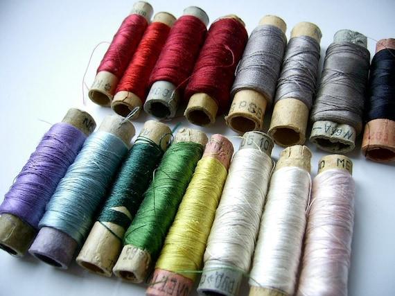 Rainbow  of Silk Threads