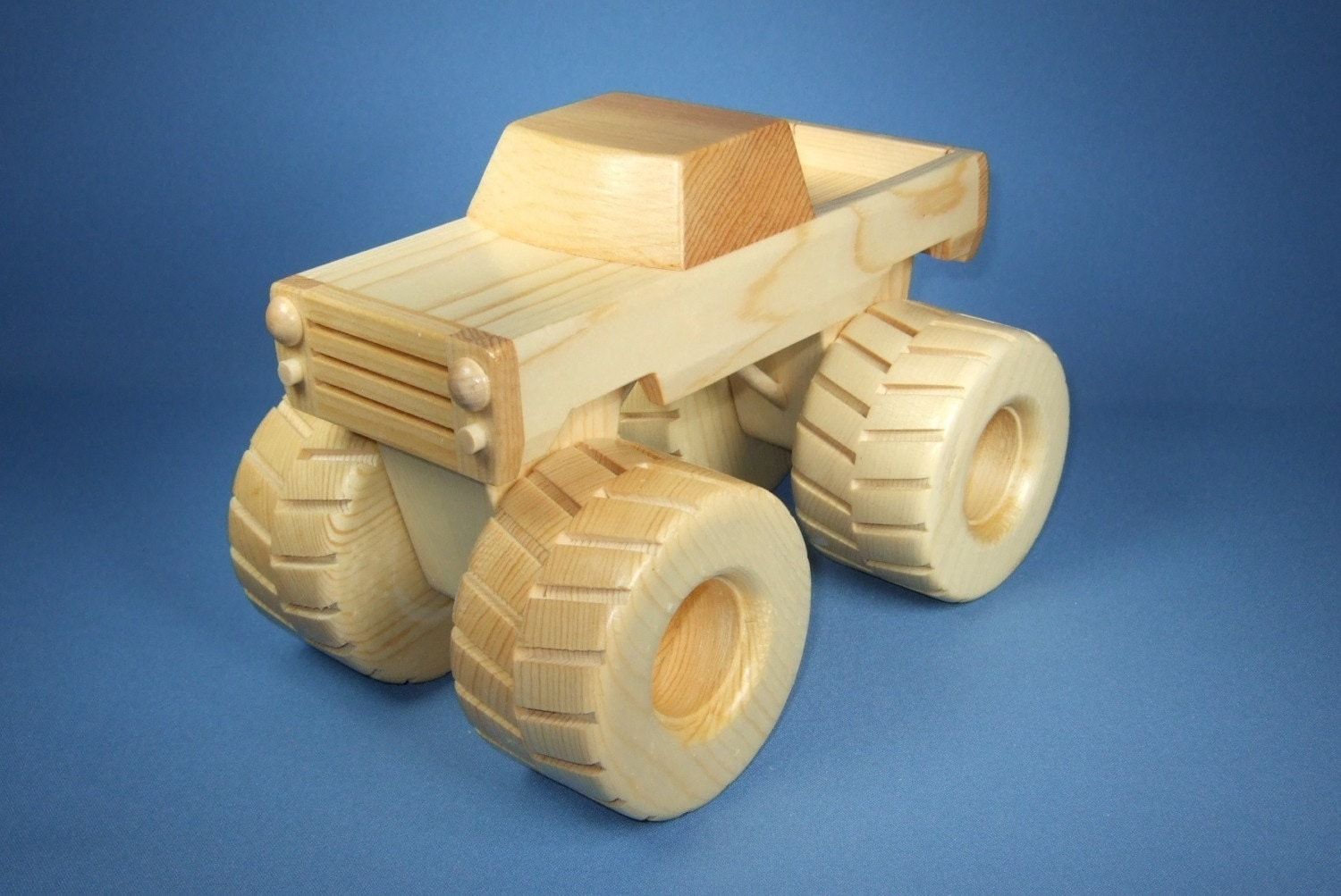 Wooden Toy Truck Plans Build log trucks, fire trucks,