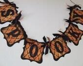 Spooky Bats Halloween Banner