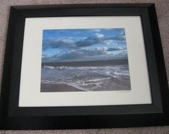 Blue Horizon- framed photographer
