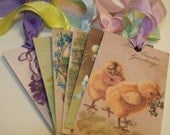 Easter Tags Mixed - Set of 6