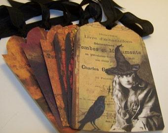 Halloween Tags - Set of 6