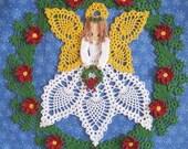 PDF Crochet Pattern- Tidings of Joy Christmas Doily