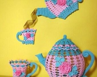 PDF Crochet Pattern- Time for Tea Ebook