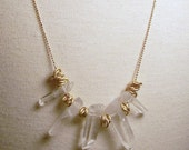 Crystal Spikes- Necklace