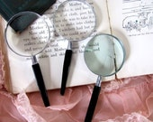 Instant Collection .. Black Magnifying Glasses