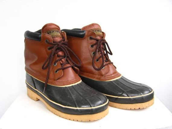 Duck boots men - photo#9